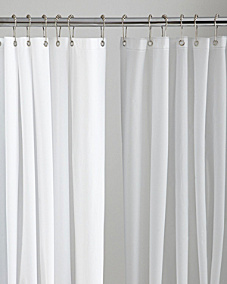 Eco-Soft Shower Curtain Liner