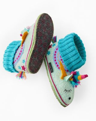 Kids' Boiled Wool Slipper Boots