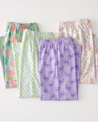 Garnet Hill Girls' Eco-Friendly Knit Sleep Pants
