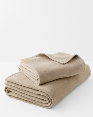 Cotton Fleece Blanket and Throw