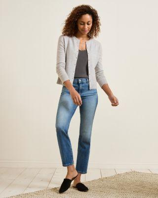 Cashmere Retro Cardigan Sweater