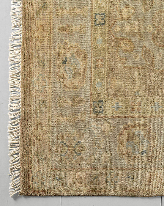 Eileen Fisher Transcendent Hand Knotted Wool Rug