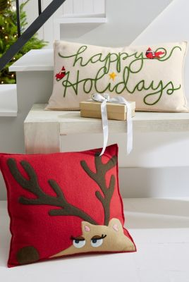 Hable Holiday Pillow Cover