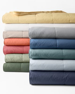 Garnet Hill Essential Core-Loft® Blanket and Throw