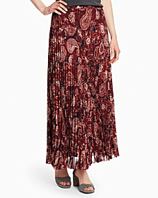 Pleated Maxi Skirt - Regular
