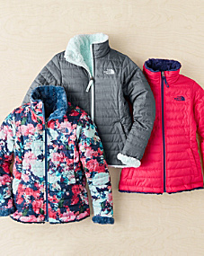 Girls' Reversible Mossbud Swirl Jacket by The North Face® - Girls