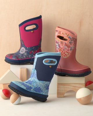 Girls' BOGS Pull-On Waterproof Boots