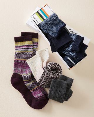 SmartWool Sock Gift Set Set of Three Pairs
