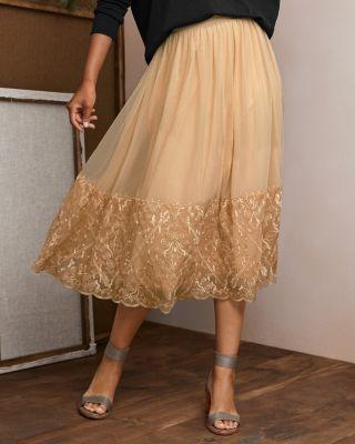 Women's Prima Tulle Midi Skirt
