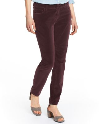 Slim 5-Pocket Velveteen Pants by Garnet Hill