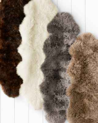 Sheepskin Rug by Garnet Hill