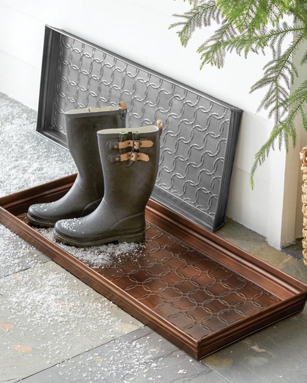 Popular Garnet Hill Copper Boot Tray | Garnet Hill IN45