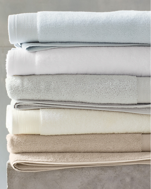 Eileen Fisher Plush Organic Cotton Face Cloths, Pair