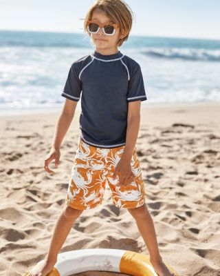 Boys' UPF 50+ Swim Board Shorts