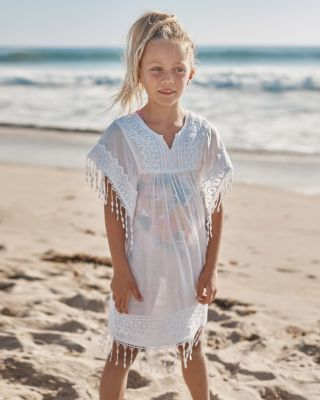 Seaside Cotton Girls' Beach Cover-Up