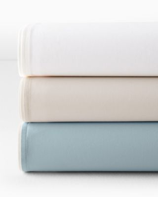 EILEEN FISHER Organic Cotton Percale Fitted Sheets