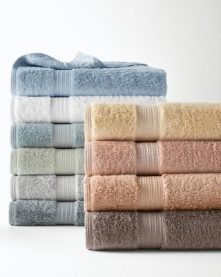 Plush Egyptian 700-Gram Cotton and Bamboo Bath Towels