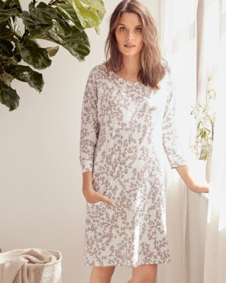 Easy Knit Pocket Organic-Cotton Nightgown