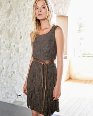 Olivia Silk Dress | Garnet Hill