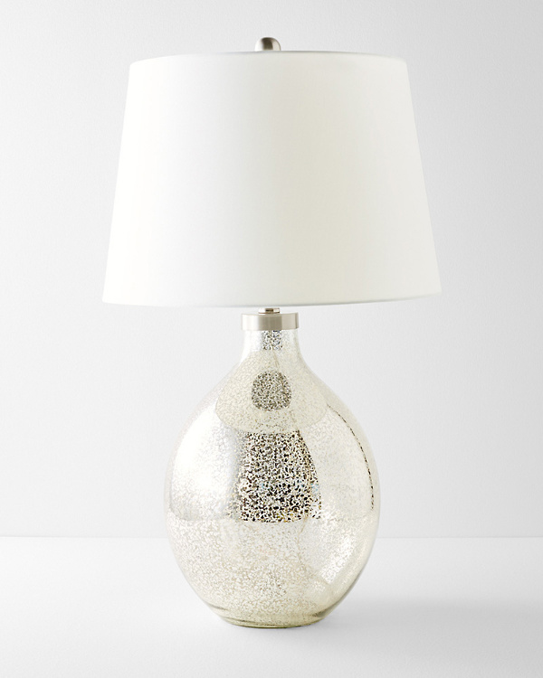 Lovely Mercury Glass Table Lamp
