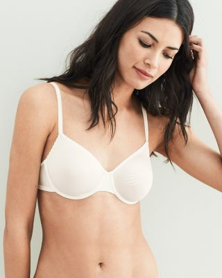 Satin Deluxe Underwire Bra by Hanro