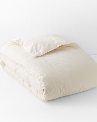 Garnet Hill Signature Organic Cotton and Down Comforter