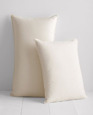 Garnet Hill Signature Organic Cotton and Down Pillow