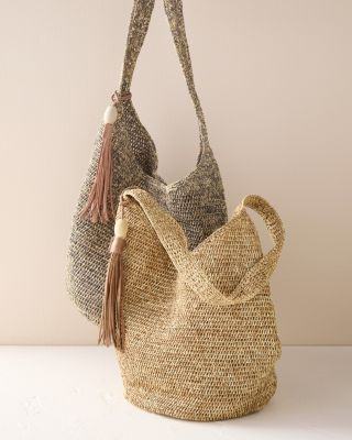 Mar Y Sol Augusta Raffia Shoulder Bag
