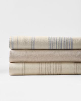 Cotton & Linen Flannel Sheets By Garnet Hill