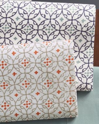 Marrakesh Organic Cotton Percale Duvet Cover