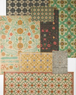 Spicher Vintage-Look Vinyl Floorcloths