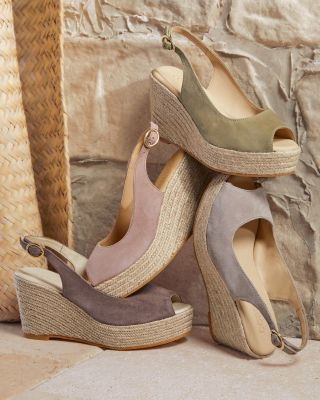 Cordani Evan Classic Espadrille Wedge Sandals