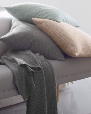 Knit Cashmere Pillow Cover