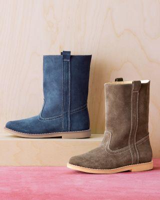 Elephantito Classic Suede Midi Boots