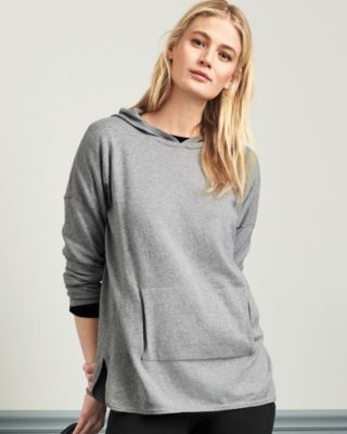 Organic Cotton Hooded Sweater Tunic