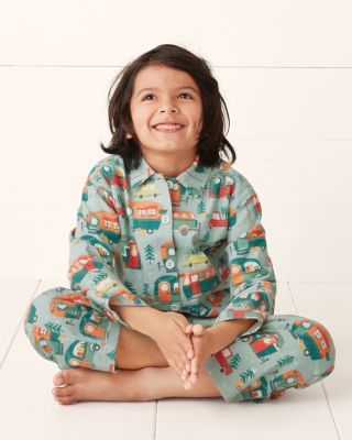 Kids' Flannel Pajama Top By Garnet Hill