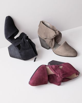 EILEEN FISHER Margo Suede Wedges