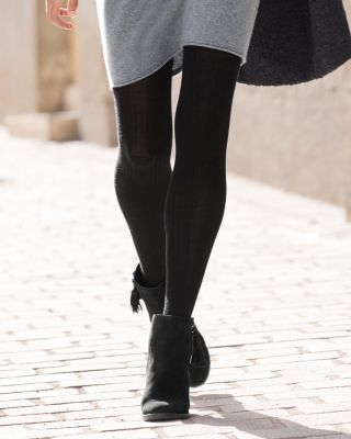 Hansel from Basel Ribbed Wool Tights