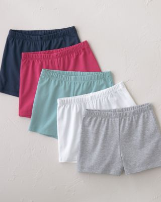 Girls' Organic Cotton Legging Shorts