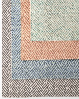Duvall Handwoven Basketweave Reversible Wool Rug