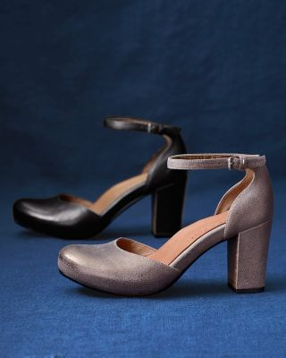 Gentle Souls Talena Leather Pumps