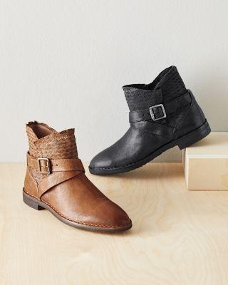 Trask Alexa Textured Boots