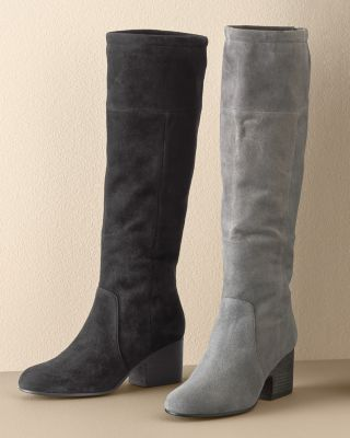 EILEEN FISHER Tall Suede Boots