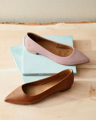 Frye Sienna Ballet Flat Shoes