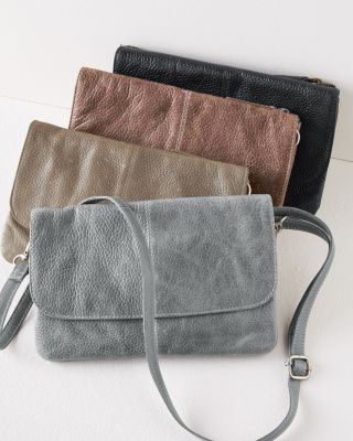 Latico Lidia Convertible Leather Clutch