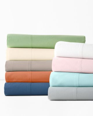 Fiesta Organic-Cotton Percale Duvet Cover and Sham