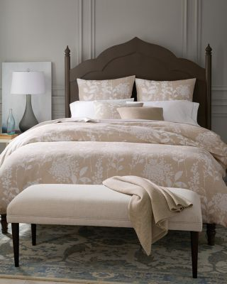 Bloom Jacquard Duvet Cover and Sham By Garnet Hill