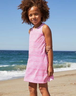 Racerback Swim Cover-Up Dress by Garnet Hill