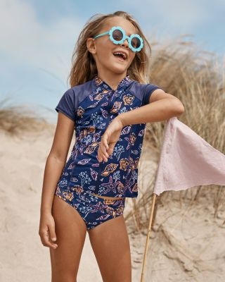 Girls' Wave Rider Swimsuit Bikini Bottom UPF 50+