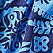 Blue Floral Paisley